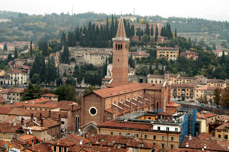 Travel to Verona in Italy