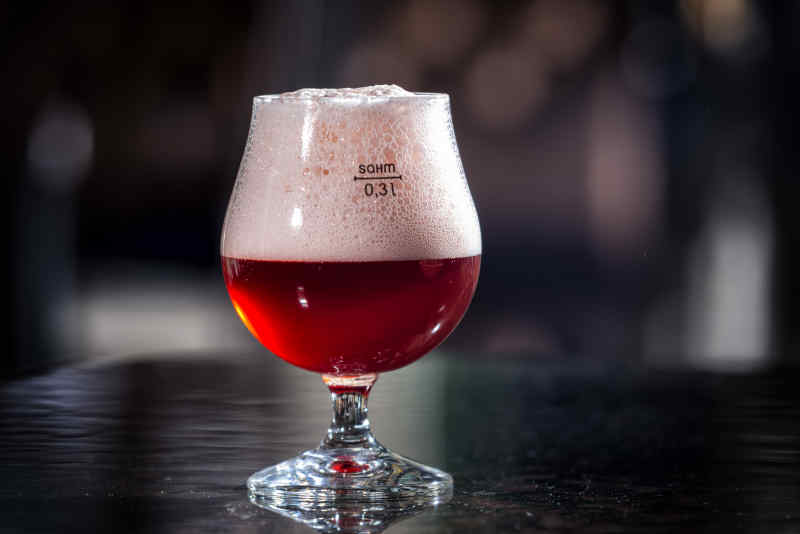 Cherry Lambic Beer, Kriek, from Belgium