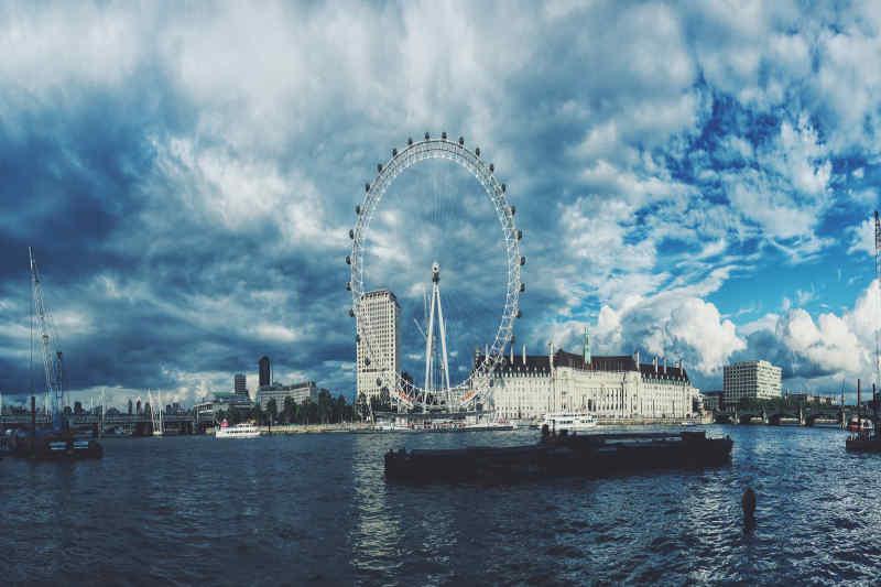 London England eye