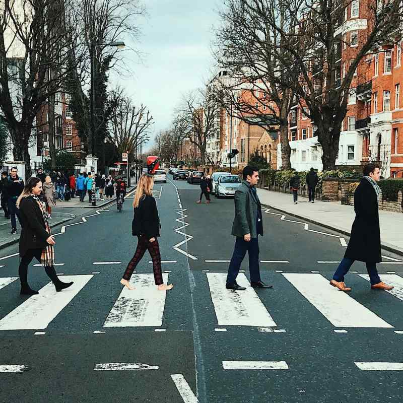 Abbey Road, London. Photo by Instagram user @jordynhnasko