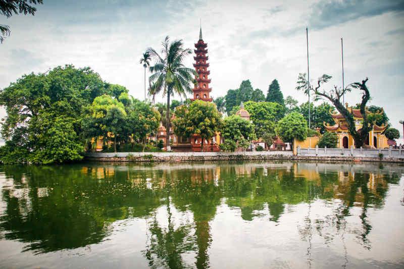 Vietnam • Tran Quoc Temple