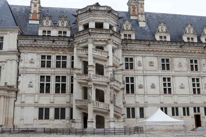 Chateau de Blois, France