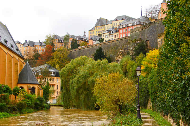 Travel to Luxembourg Coast in Italy