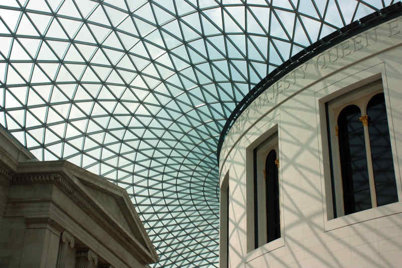 British Museum in London, England