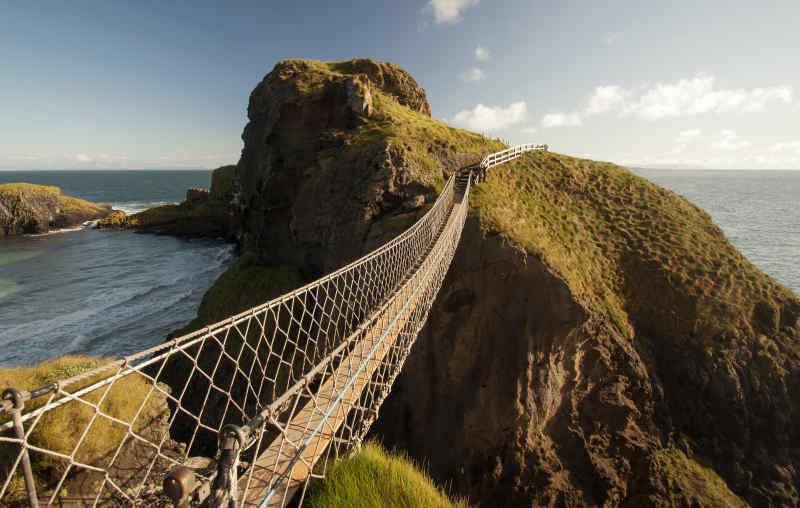 Carrick-a-rede Rope Bridge County Antrim Ireland