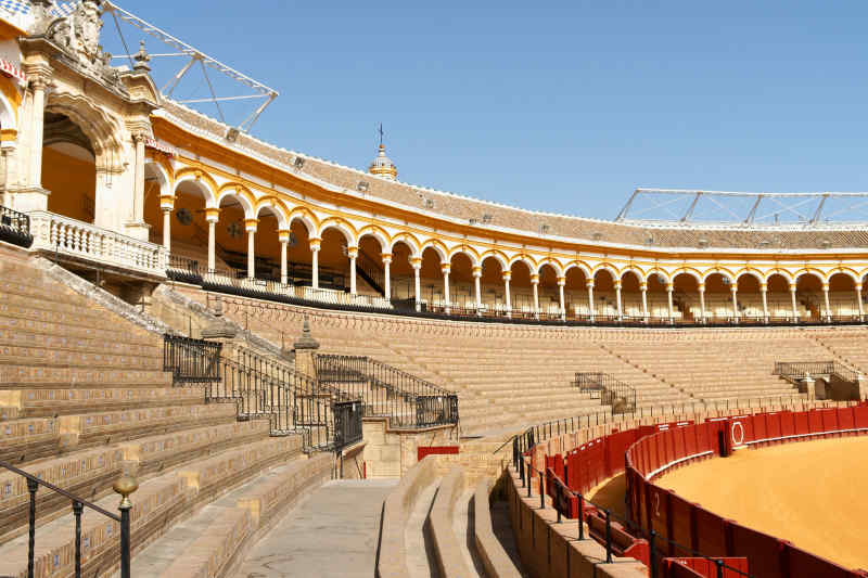 Fighting Pit of Meereen Filming Location: Plaza de Toros, Seville Spain