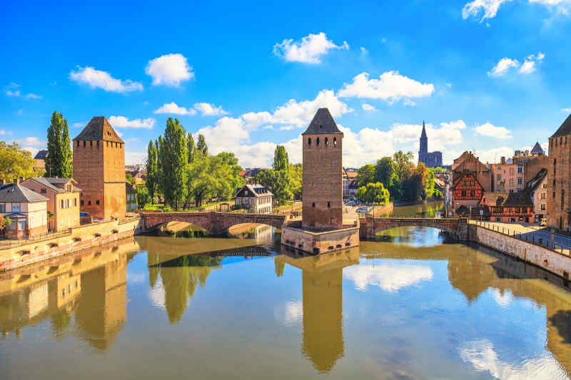 Travel to Strasbourg in France