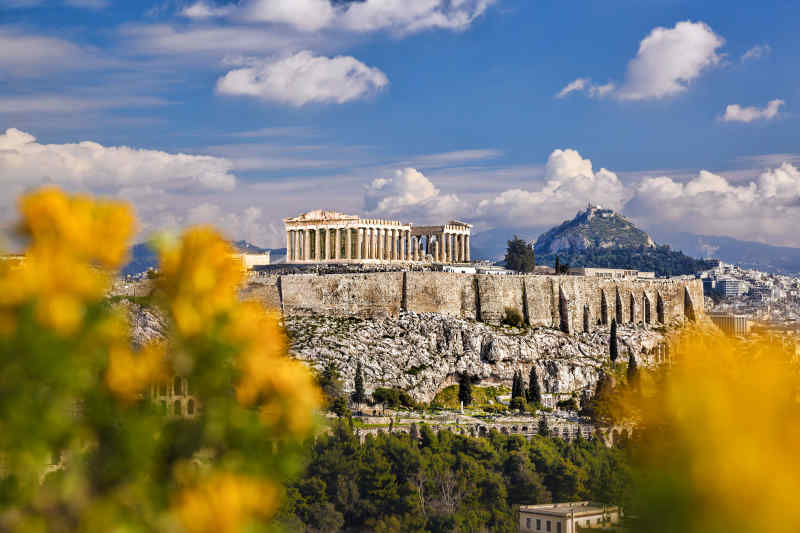 Athens, The City of the Violet Crown