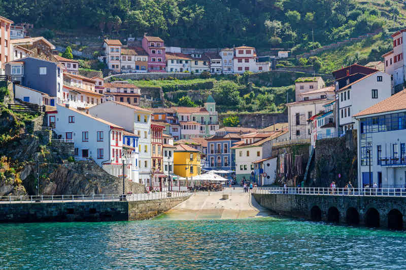 Scenic coastal towns and villages