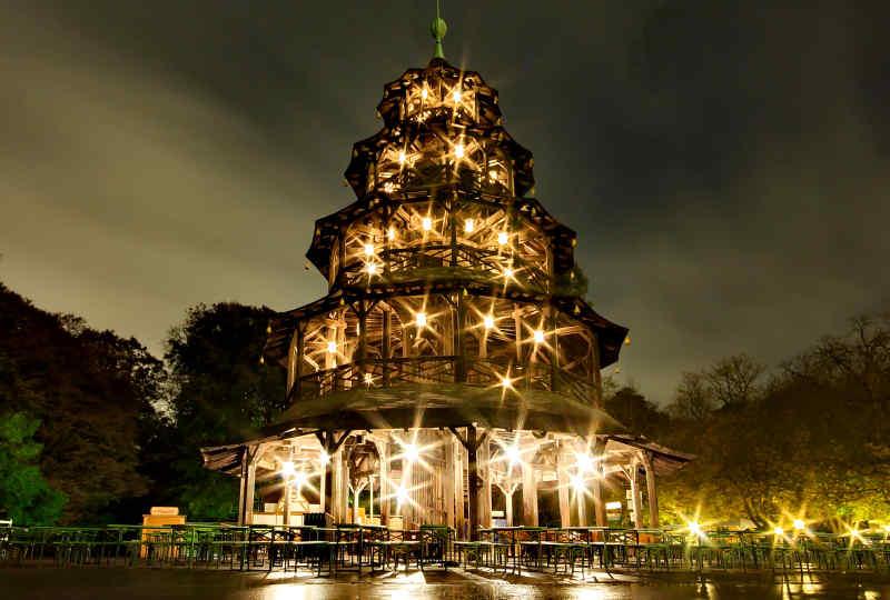 Englischer Garten in Munich, Germany