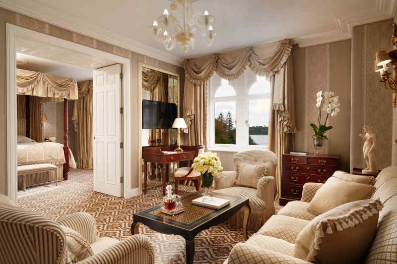 Ashford Castle Livingroom