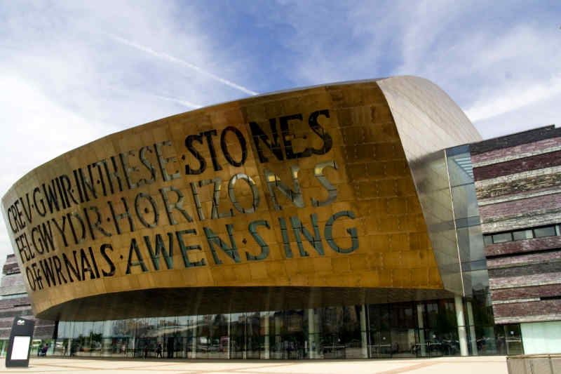 Millennium Centre in Cardiff, Wales