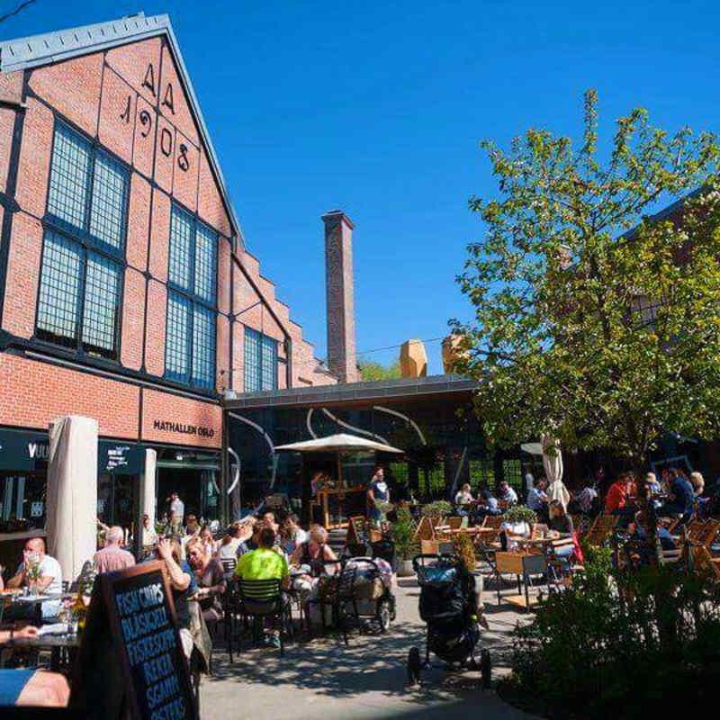 Mathallen Oslo in Norway