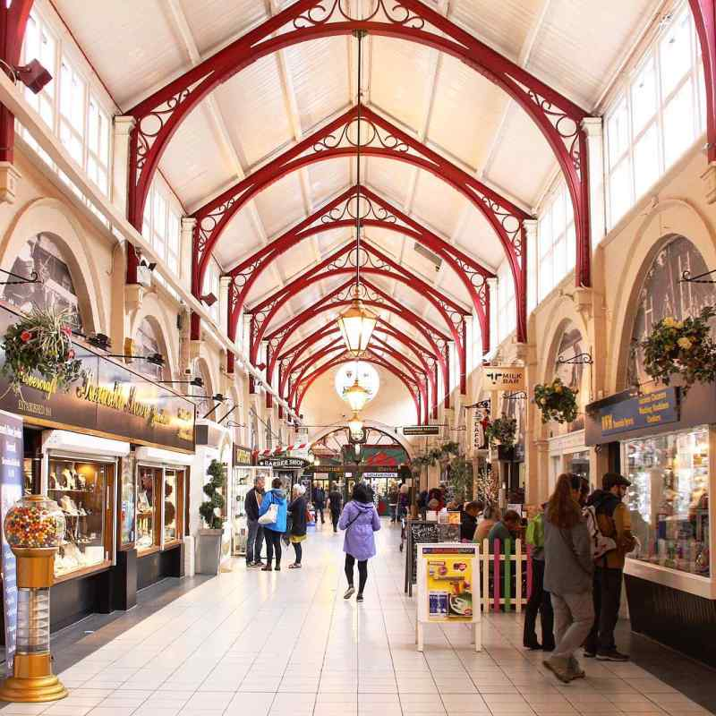 Victorian Market in Inverness, Scotland
