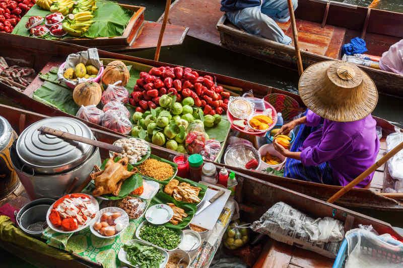 Damnoen Saduak Floating Market • Bangkok, Thailand