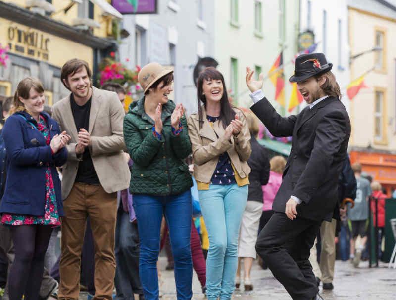 High Street in Galway, Ireland