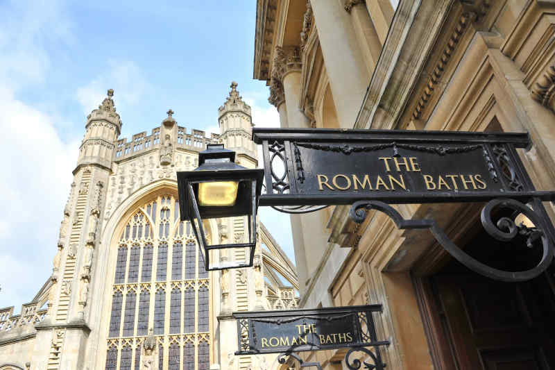 Entrance to Roman Baths