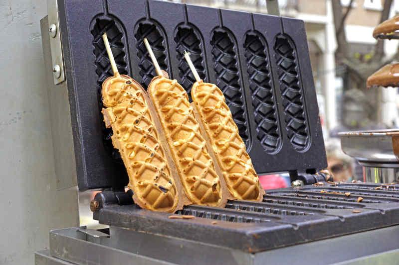 Hotdog Waffle