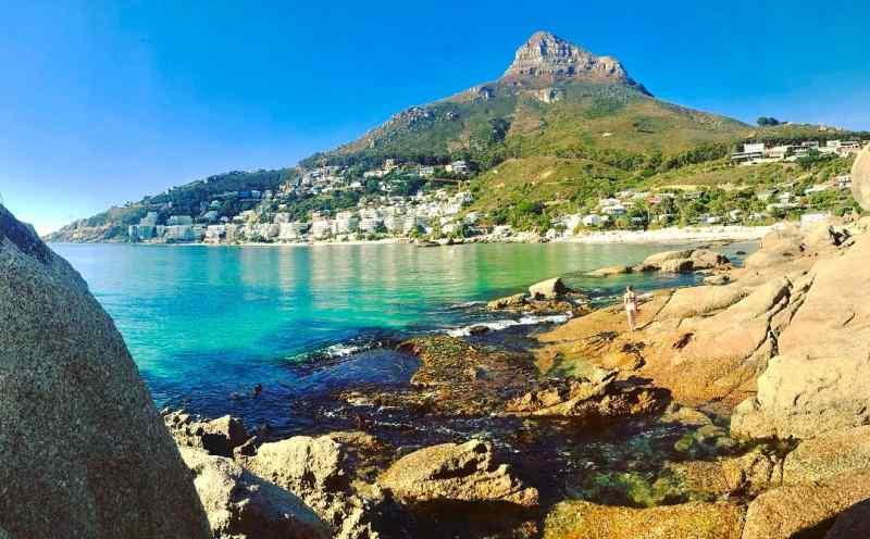 Clifton 4th Beach near Cape Town, South Africa