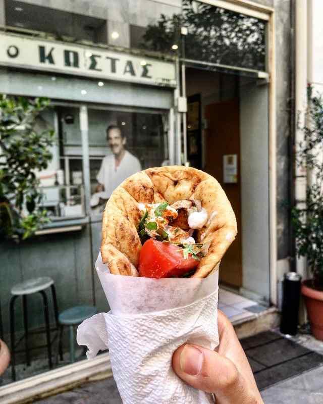 O Kostas, Athens