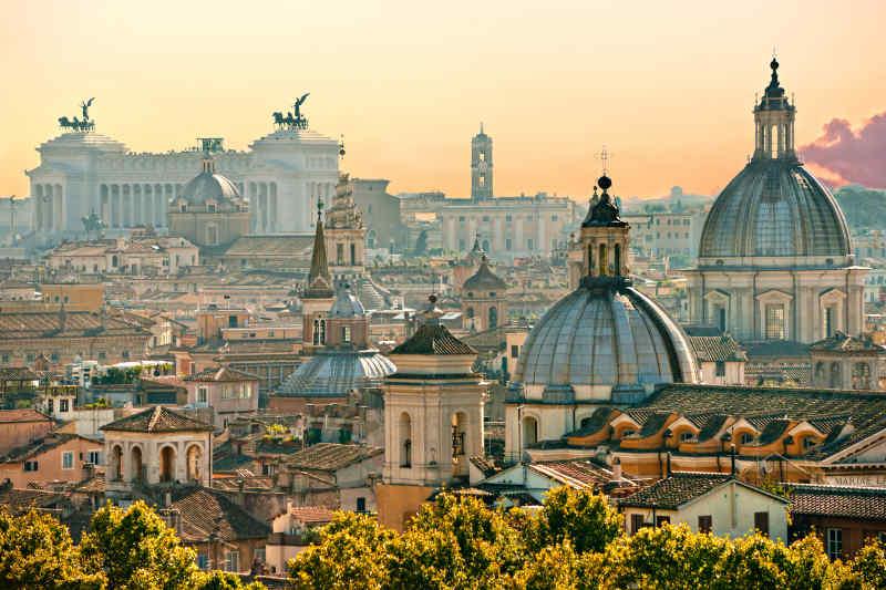 Rome Italy churches