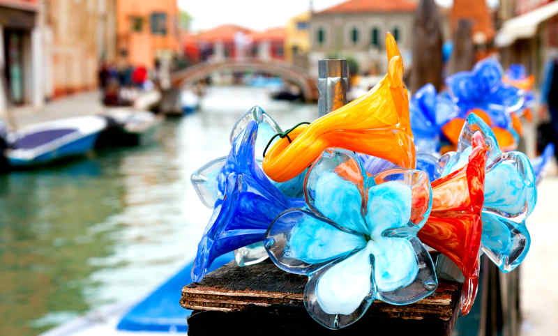 Glassware from Murano