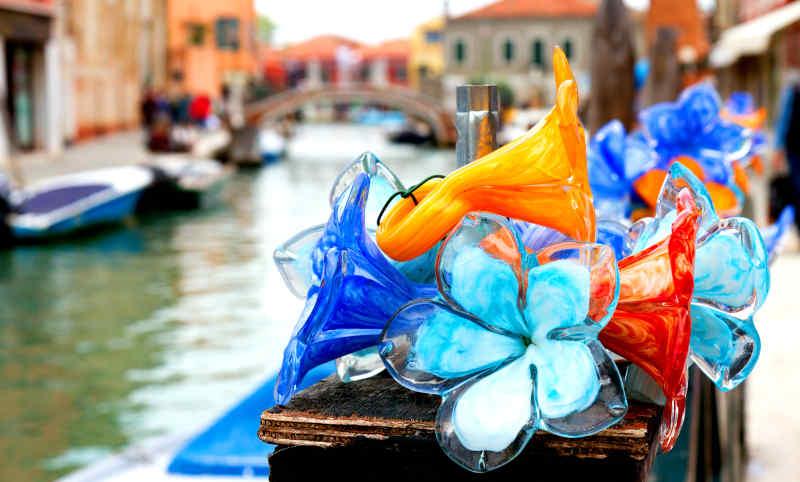 Glassware from Murano