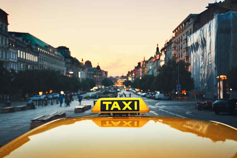 Taxi in Prague