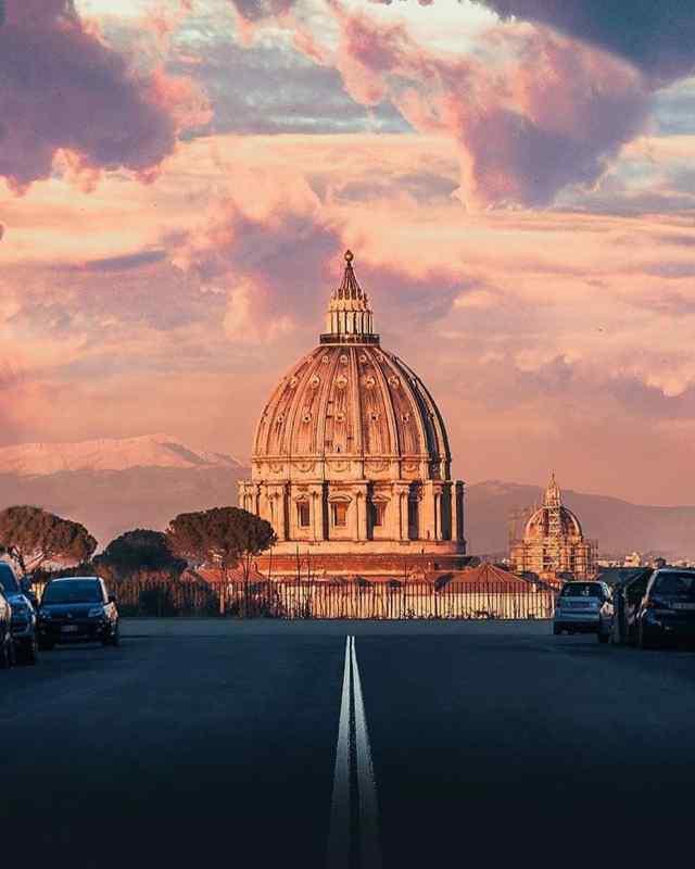 Via Piccolomini, Rome