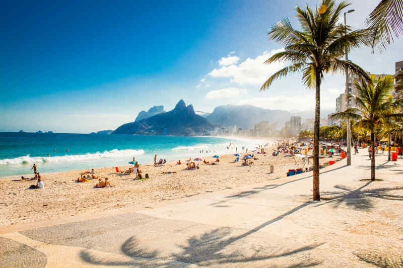 Ipanema Beach • Rio de Janeiro, Brazil
