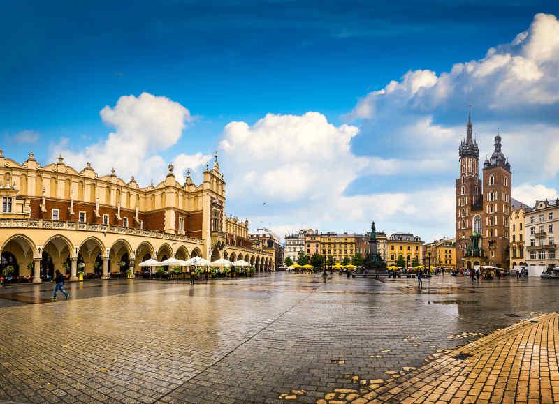 Travel to Krakow in Poland