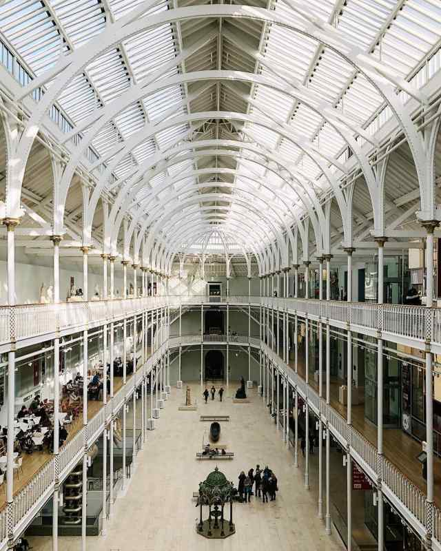 National Museum of Scotland in Edinburgh, Scotland