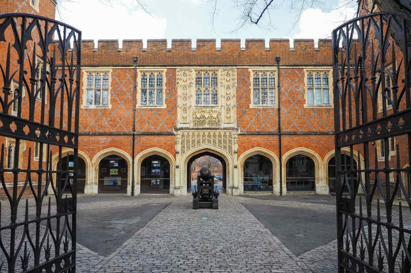 Cannon Yard at Eton College