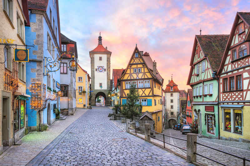 Romantic Road, Germany