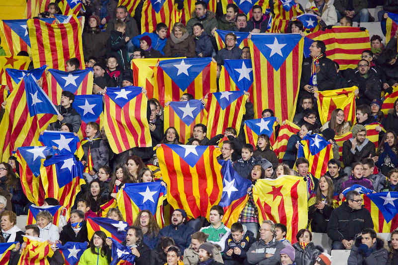 Barcelona soccer match