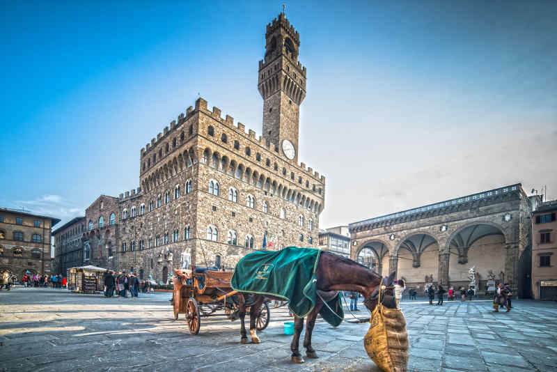 Piazza Signoria in Florence, Italy