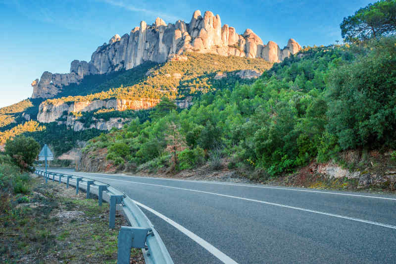 Road trip through Spain