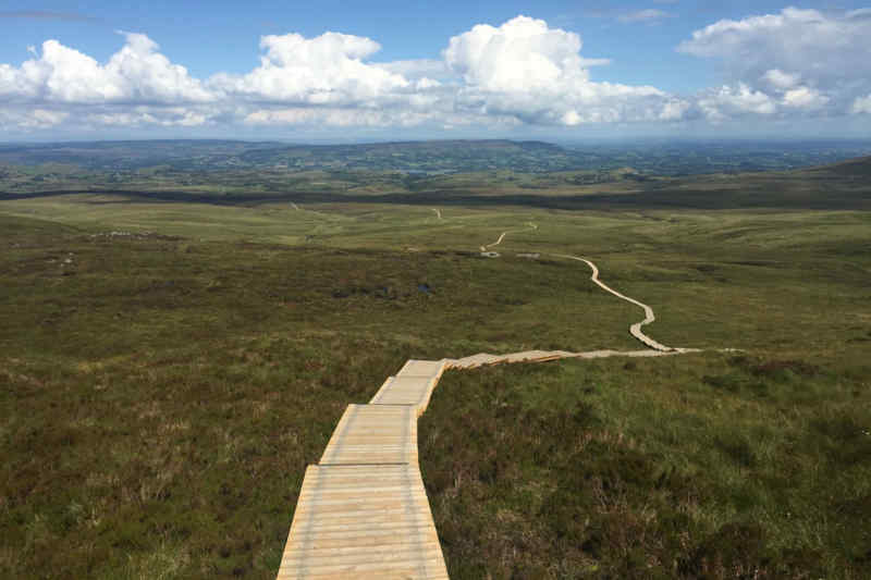 Cuilcagh Mountain in County Fermanagh