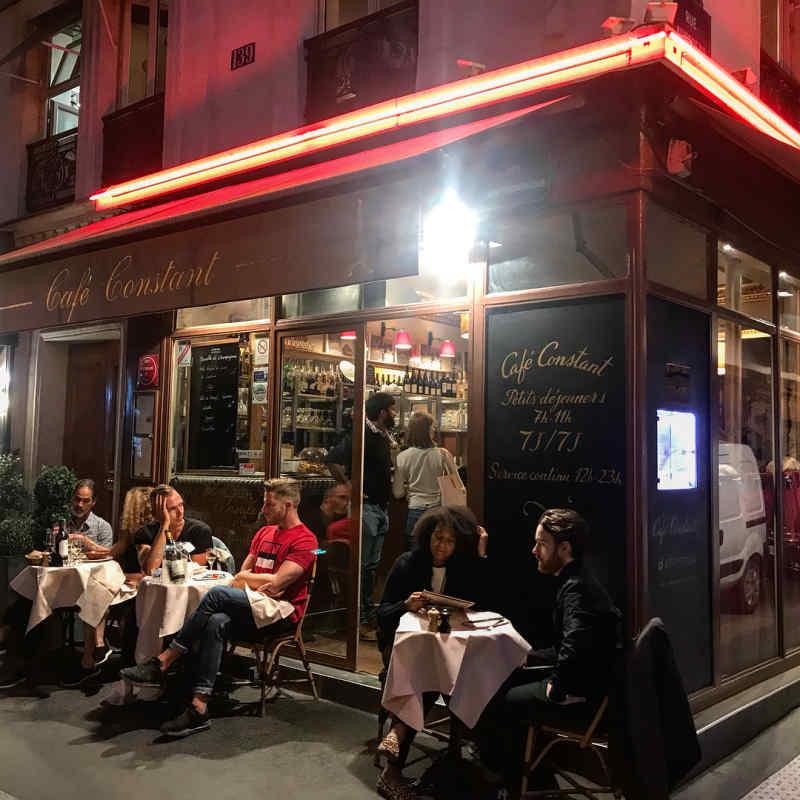 Cafe Constant, Paris
