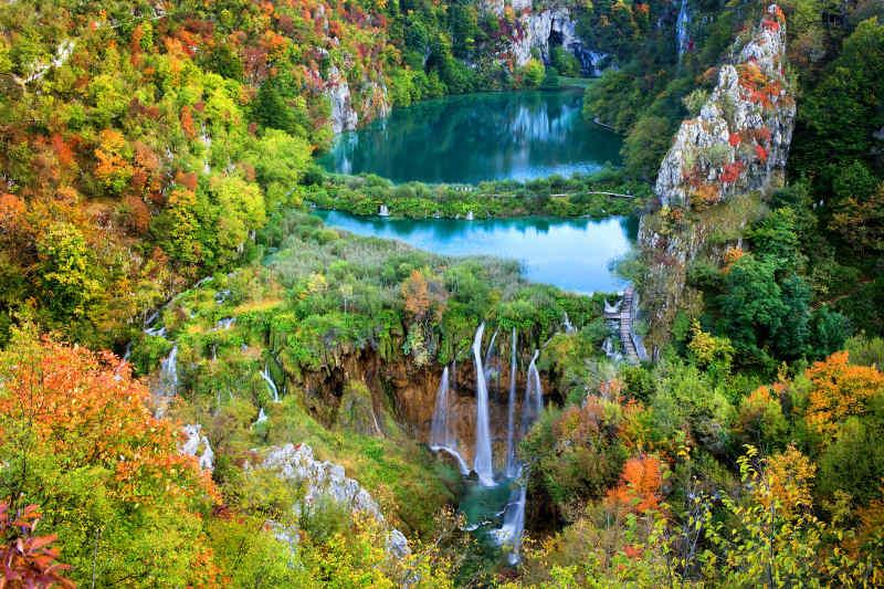 Plitvice Lakes National Park • Croatia