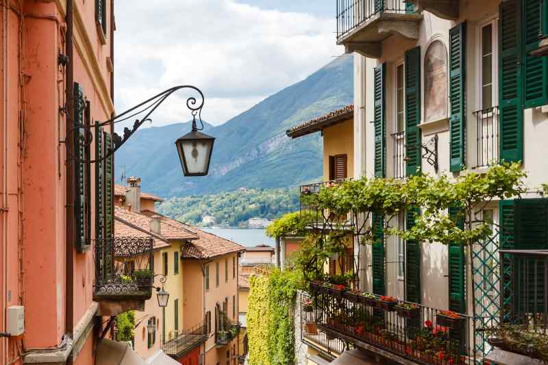 Travel to Lake Como in Italy
