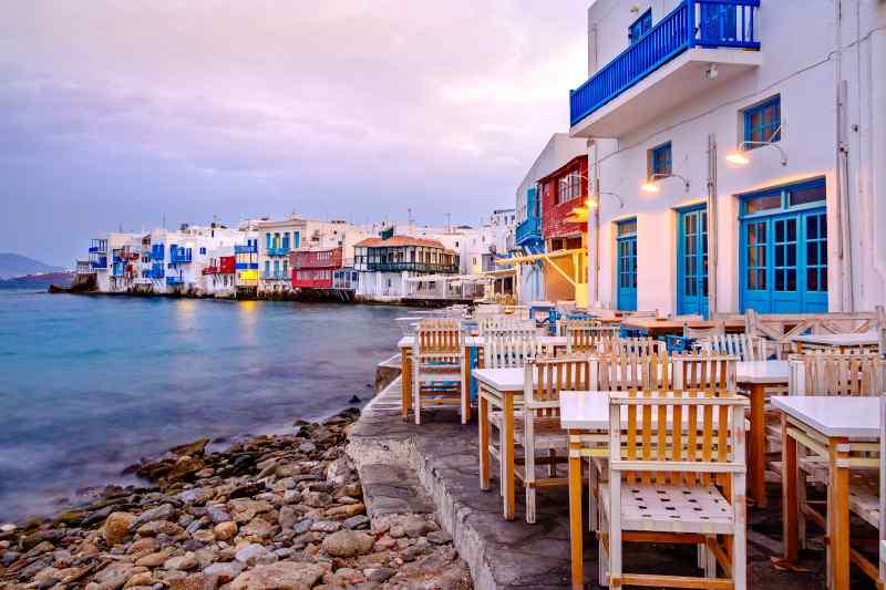 Mykonos in Greece