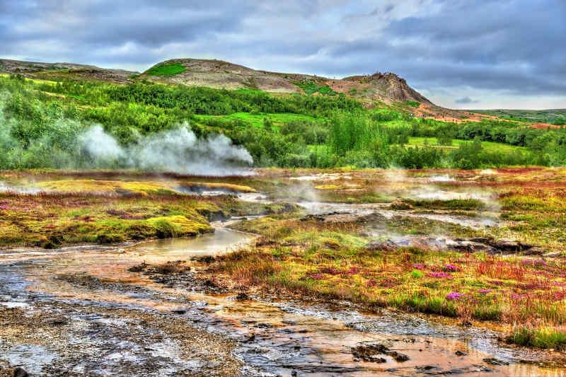 Haukadulur Valley, Iceland Golden Circle