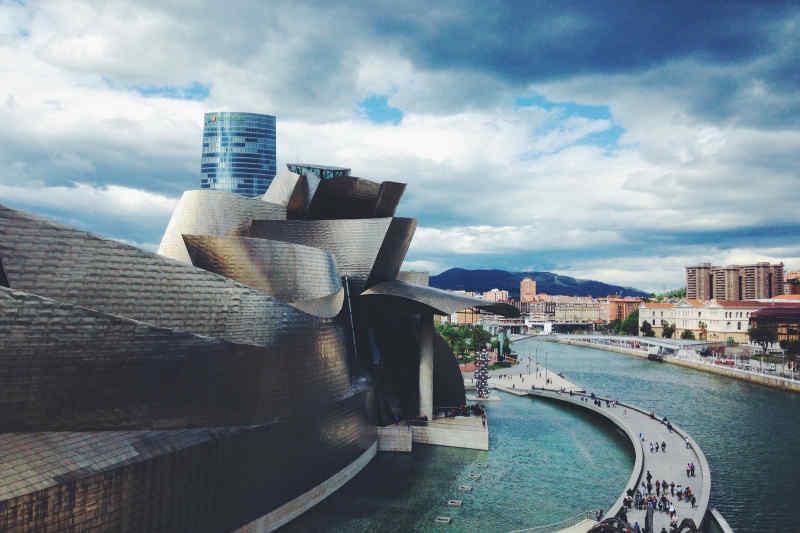 Guggenheim in Bilbao, Spain