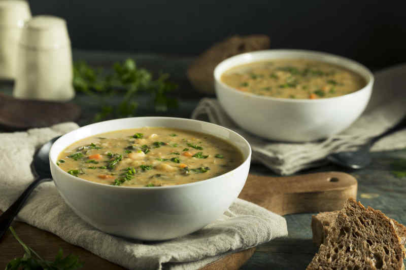 Tuscan white bean soup, Ribollita