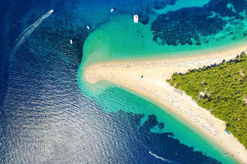 Zlatni Rat • Brac Island, Croatia
