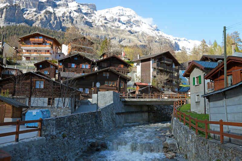 Leukerbad Village • Switzerland