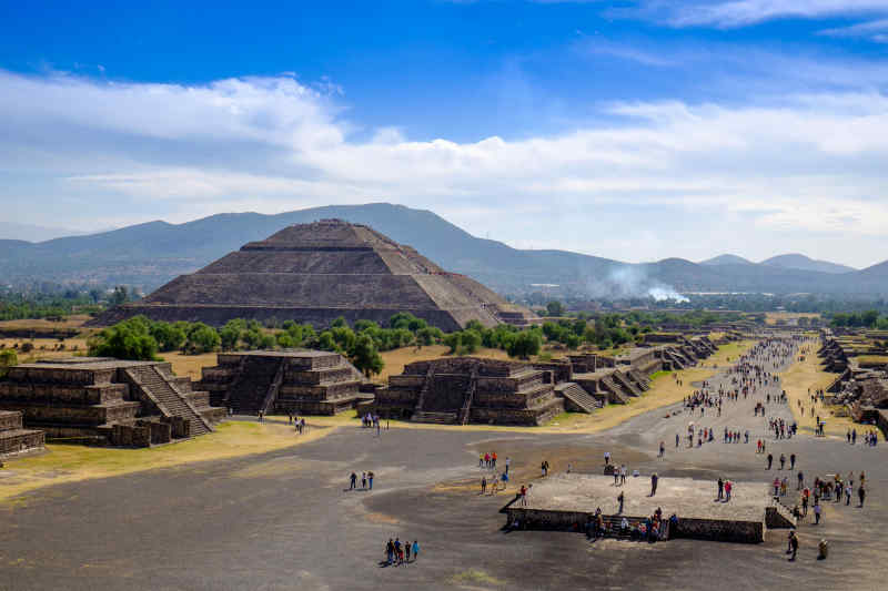 Pyramid of the Sun Mexico