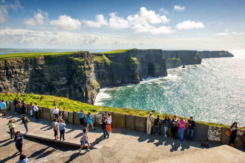 Cliffs of Moher in Clare, Ireland