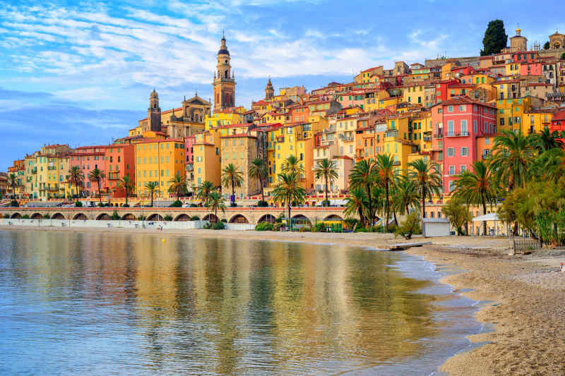 Colorful Cities: Menton, France
